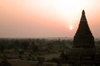Sunrise over Bagan, Myanmar