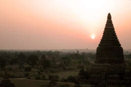 Sunrise over Bagan, Myanmar