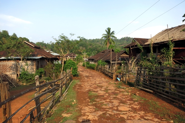 A remote village in Hsipaw's mountains